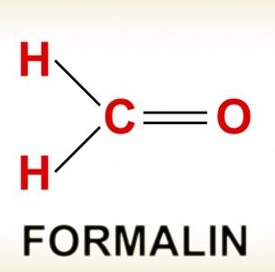 Gambar Struktur kimia formalin