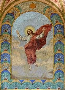 Gambar Yesus Kristus Viktor_Foerster,_Zmrtvýchvstalý_Kristus_(podle_Raffaela_Santi),_kolem_1908
